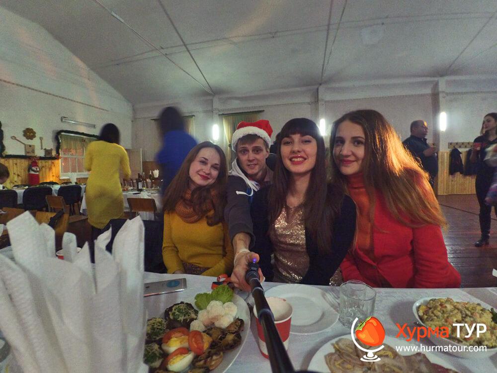 новый год в Карпатах 2016