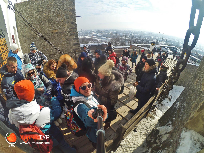 экскурсия в замок Паланок